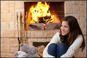 fireplace-gas log-repair and service-york-pa