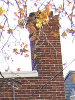 Old Brick Chimney York Pa