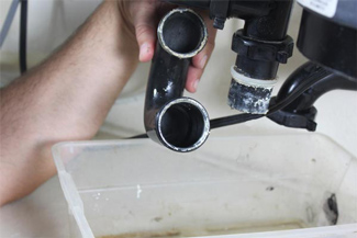 blocked-drain cleaning