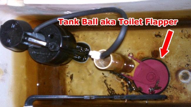 toilet-tank-ball or flapper